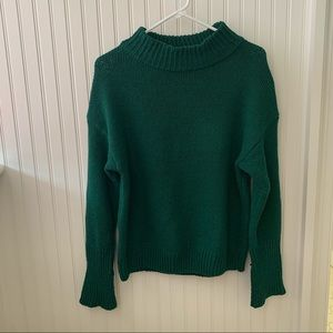 Cozy knit mock neck sweater!